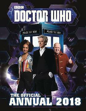 Doctor Who Official Annual 2018 Hardcover Brand New