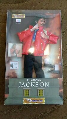 Michael Jackson Doll Beat It outfit collectable vintage BNIB