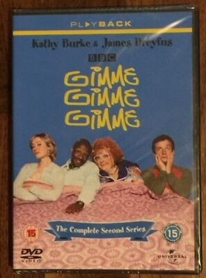 Gimme, Gimme, Gimme - Series 2 Complete (DVD, 2007) Job Lot x 25 New And Sealed