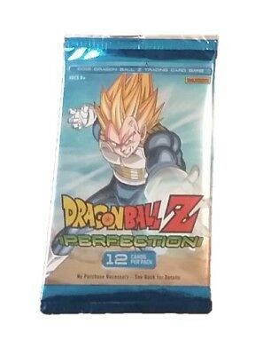 Dragonball Z DBZ CCG 12 Card Booster Pack Brand New Sealed Perfection *5 Packs*