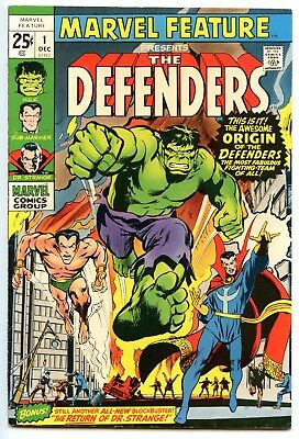 Marvel Feature 1 (1971), FN+ 6.5, 1st Appearance of the Defenders!