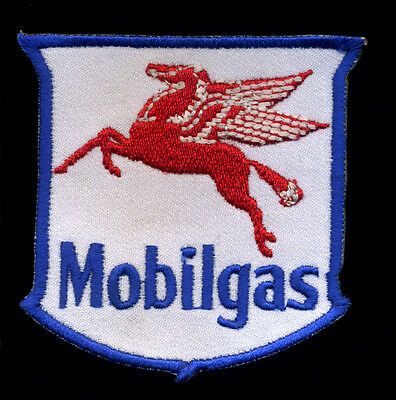 Mobilgas patch Mobil Motor Oil Gas Gasoline Station Hot Rod Mechanic