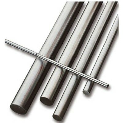 "Imperial Silver Steel 1/16 - 1.1/4"" Dia 13"" Lengths Ground Round Shaft Bar (PVR)"