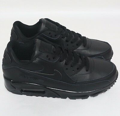 Nike Air Max 90 Essential Total Black 302519 001 Sneakers Uomo Donna Shoes