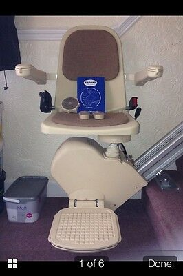 BROOKS SLIMLINE STAIRLIFTS SUPPLIED AND FITTED £549 2 Yr Warranty