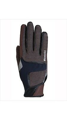 (8, Brown) - Roeckl Mendon Glove. Best Price