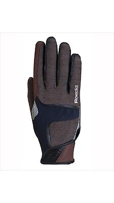 (8, Brown) - Roeckl Mendon Glove. Free Delivery