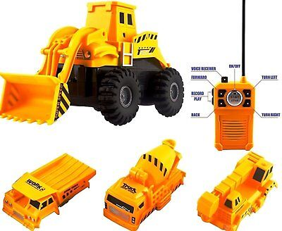Remote Control Tractor RC Bulldozer Truck Toy Car Vehicle Construction Dump Gift