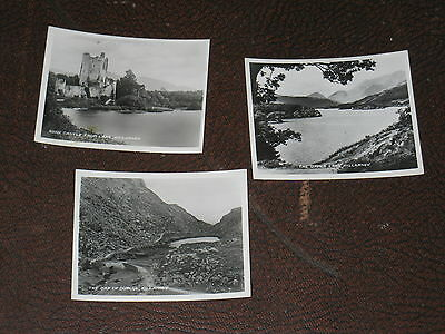 3 kleine alte Photos Killarney Irland