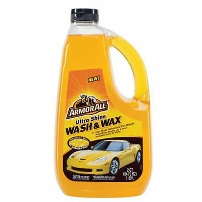 Armor All Ultra Shine Wash & Wax - 64 oz.