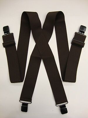 Clip-On Suspenders - Realtree Camo, Mossy Oak, Black, Blaze Orange, White...