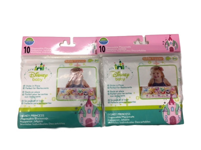 Neat Solutions Eco Table Topper - Disney Princess 10 ct Pack of 2 NEW