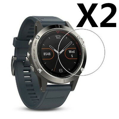 2Pcs Transparent Flexible Glass Screen Protector Film Guard For Garmin Fenix 5