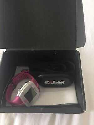 Womens Polar Heartrate Watch Pink FT4F