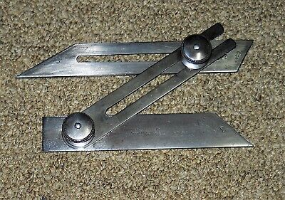 "Starrett #49 Combination Bevel 4"" USA"