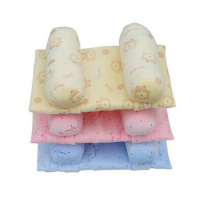 Baby Infant Anti Roll Pillow Sleep Care Positioner Protect Flat Head Cushion