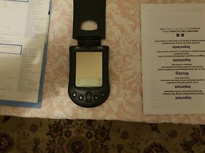 Palm m100 PDA complete box ,leather case and all literature