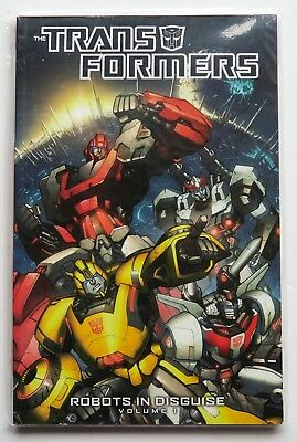 The Transformers Vol. 1 Robots in Disguise NEW IDW Graphic Novel Comic Book