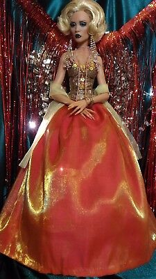 Princess Of Christmas - Gown For Cami Tyler Tonner Fid Iplehouse Msd Bjd Doll