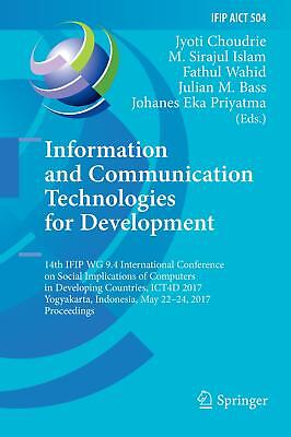 Information and Communication Technologies for Development  IFIP Advances in I..