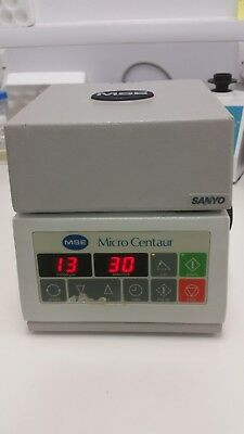 SANYO MSE Micro Centaur Centrifuge. In Good Working order and quiet.