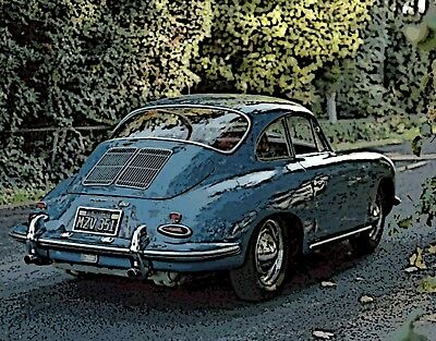 Porsche 356 2018 Calendar Will Be The Rarest Collector 356  Cal Signed Ed. Of 50