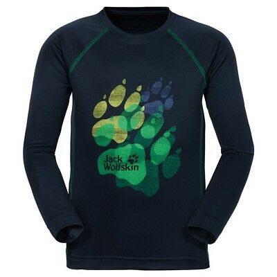(176, Night Blue) - Jack Wolfskin Children's 'Sunshade Longsleeve K