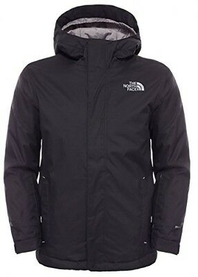 (Black/tnf Black, Youth Small) - The North Face Kids' Snow Quest Jacket