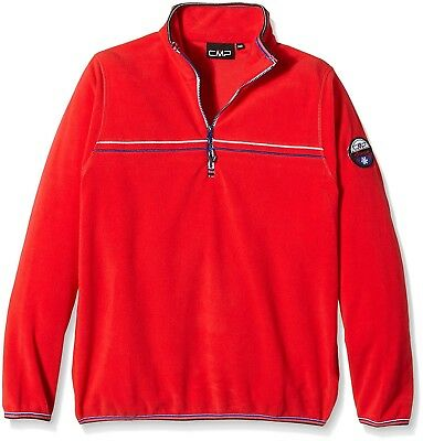 (4 years, Red - Lacca) - CMP F.LLI Campagnolo Boy's Fleece Shirt