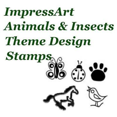 ImpressArt Animals & Insects Theme Metal Stamp Punches Stamping Choose Design