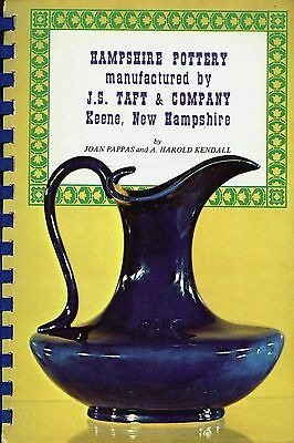 Antique New Hampshire Pottery J.S. Taft Co. - Types Forms / Illustrated Book