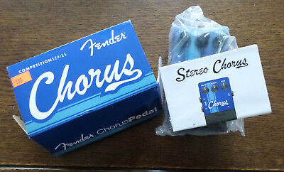 Analog Chorus Pedal for Guitar Excellent Condition with Box& Instructions