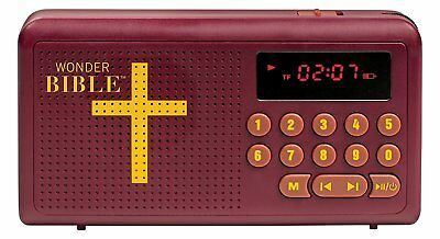 Wonder Bible Audio Player AS Seen On TV The Talking King James Listen Anywhere