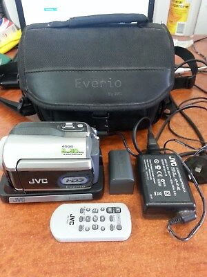 JVC Hard Disk Camcorder Everio 40GB GZ-MG275AA (25384)