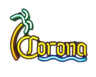 Corona NEON LED sign 14x2 inches for BAR, PUB or Mancave