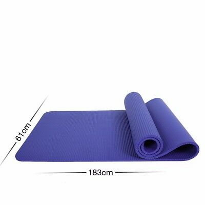 (Blue) - MDRW-Yoga Lovers Men And Women Beginners Yoga Pilates Mat Extended
