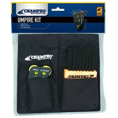 Champro Umpire Kit for A045,A040,A048 (Black). Shipping Included