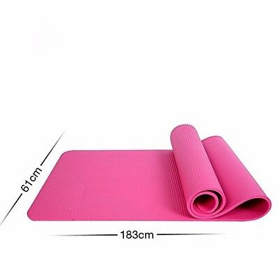 (Pink) - MDRW-Yoga Lovers Men And Women Beginners Yoga Pilates Mat Extended