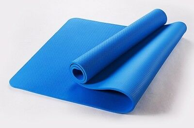 (Blue) - MDRW-Yoga Lovers Unscented Yoga Pilates Mat Widening Fitness Pad 80Cm