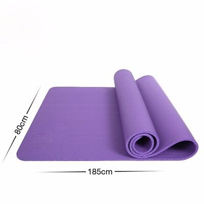 (Violet) - MDRW-Yoga Lovers Men And Women Beginners Yoga Pilates Mat Extended