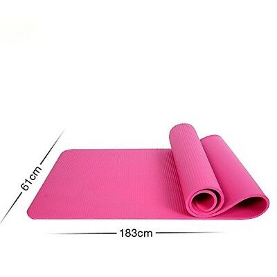 (Pink) - MDRW-Yoga Lovers Sports Yoga Pilates Mat Thickening Widening