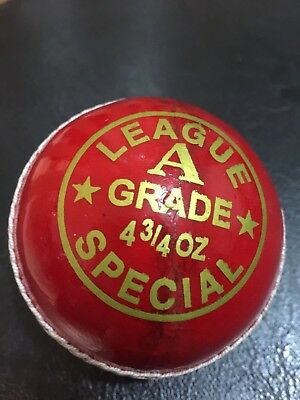 1x142g Junior 4pc Cricket Ball By Ozsons