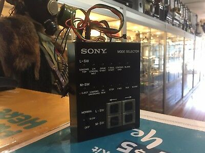 Sony (J-6080-825-A) Mode Selector In Box / Untested
