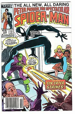 Peter Parker the Spectacular Spider-Man #108 & #126 Black costume (Two Book Lot)