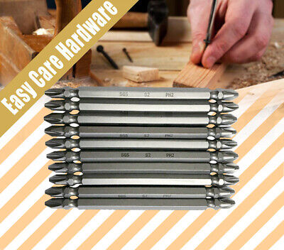 10 pcs PH2 110mm Screwdriver Power Drill Bits Double Ended Phillips Power Driver