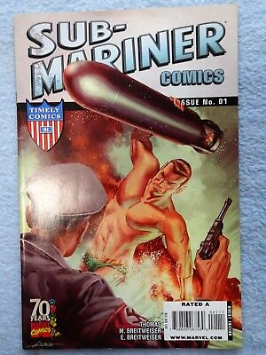 Sub-mariner, Timely Comics #1, 36 Pages