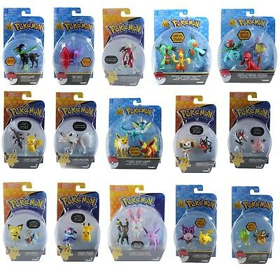 Tomy Pokemon Action Figure 3 inch 6 inch 10 inch Small Medium Large
