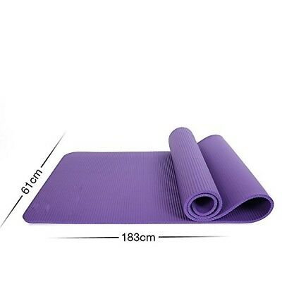 (Violet) - MDRW-Yoga Lovers Sports Yoga Pilates Mat Thickening Widening