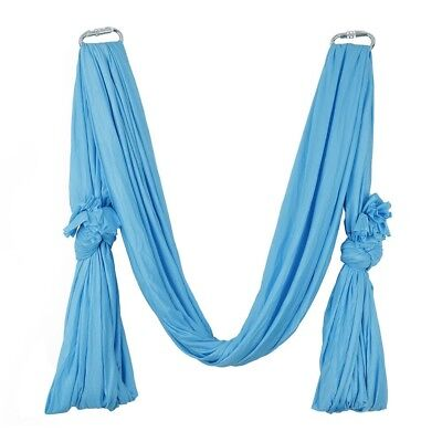 (Blue) - Pellor 5M Yoga Air Flying Inversion Hammock Aerial Yoga Hammock Swing