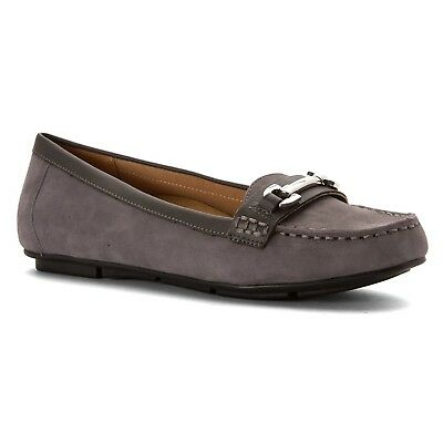 (9.5 B(M) US, Grey) - Vionic with Orthaheel Technology Women's Kenya Loafer